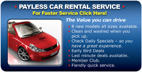 Payless car rental dia airport